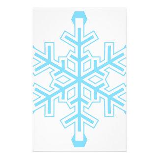Snowflake Custom Stationery