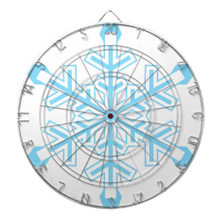 Snowflake Dartboard With Darts