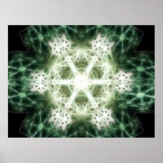 Snowflake Energetics Poster