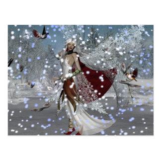 Snowflake Fae Postcard