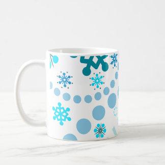 Snowflake Flurry Coffee Mug