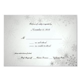 Snowflake Gems/ Silver Card