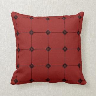 Snowflake Geo Jersey Knit Throw Pillow