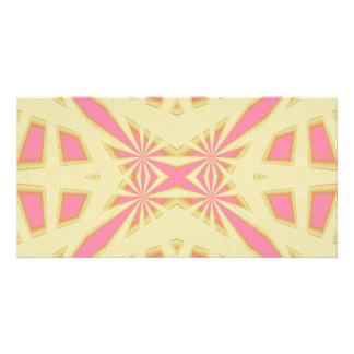 Snowflake - Geometric Abstract Photo Card Template