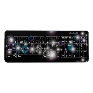 Snowflake Glow Wireless Keyboard