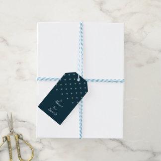 Snowflake holiday Gift Tag