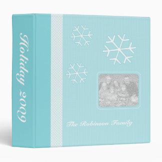 Snowflake Holiday Memory Book Photo Album Binder