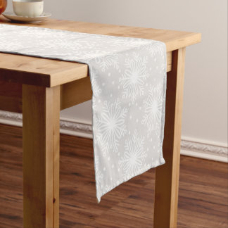 Snowflake Holiday Table Runner