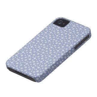 Snowflake Holidays custom Blackberry case