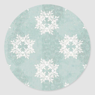 Snowflake Ice Blue Sticker
