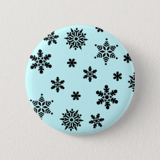 Snowflake Invasion Pattern Button