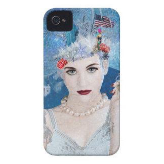 Snowflake iPhone 4 Case-Mate Cases