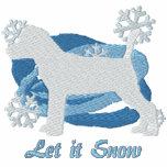 Snowflake Jack Russell Terrier Hoodie