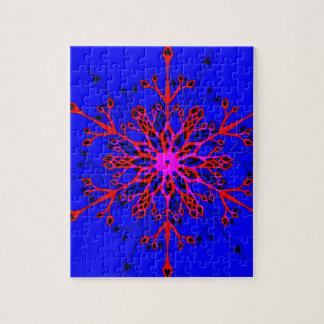 Snowflake Jigsaw Puzzle