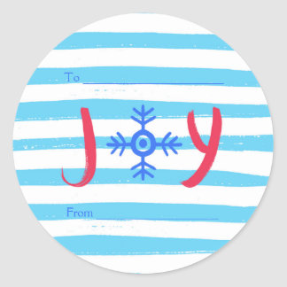 Snowflake Joy | Christmas Holiday Stickers