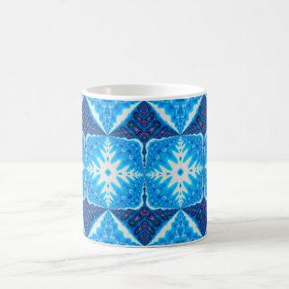 snowflake kaleidoscope mug