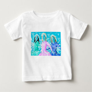 Snowflake ladies baby T-Shirt