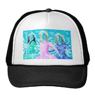 Snowflake ladies trucker hat