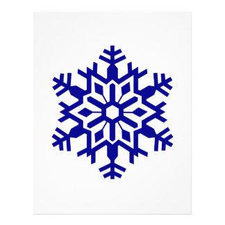 Snowflake Custom Letterhead