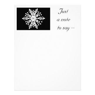 Snowflake Personalized Letterhead