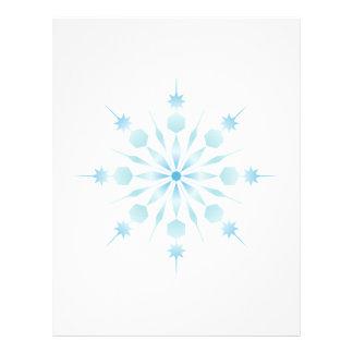 Snowflake Letterhead