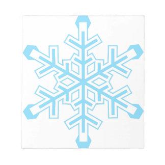Snowflake Notepads