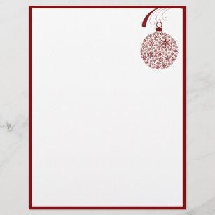 christmas letterhead custom christmas letterhead templates