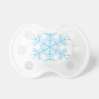 Snowflake Pacifier