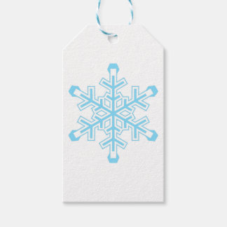 Snowflake Pack Of Gift Tags
