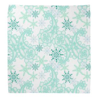Snowflake Paisley Bandana