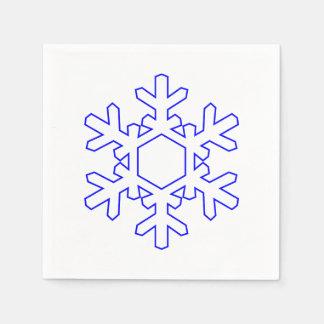 Snowflake Paper Napkin