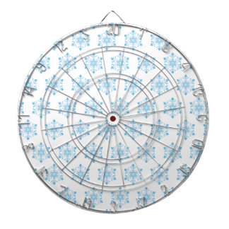 Snowflake Pattern Background Dartboards