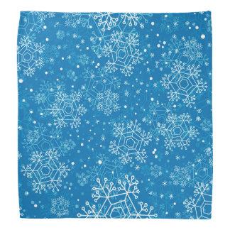 Snowflake pattern bandana