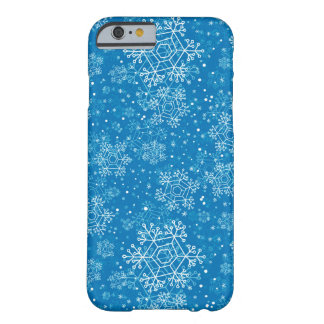 Snowflake pattern barely there iPhone 6 case