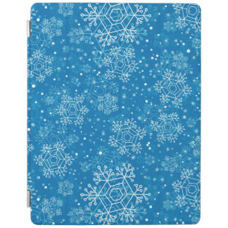 Snowflake pattern iPad cover