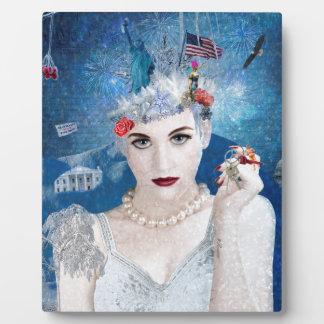 Snowflake Plaque