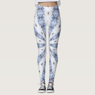 Snowflake Princess Rave Leggings