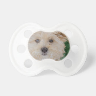 Snowflake Puppy Pacifier