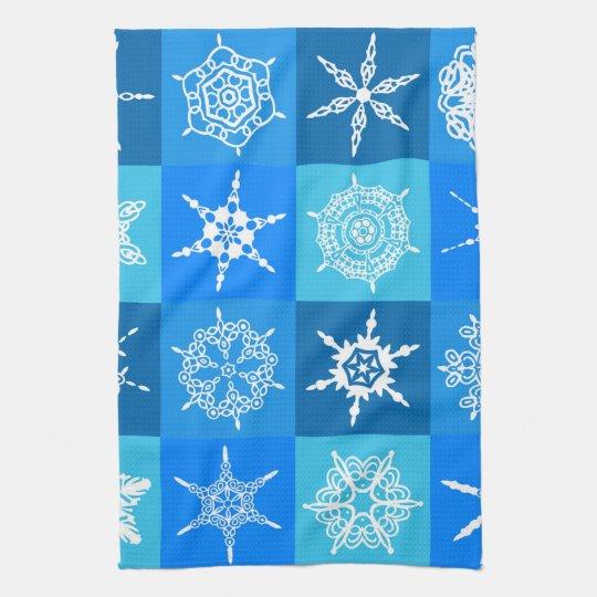 "Snowflake Quilt Towel 16"" x 24"""