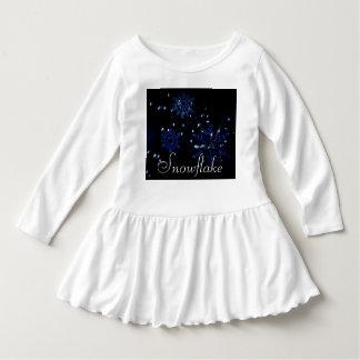 Snowflake Ruffle Dress