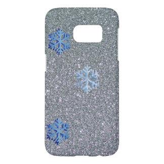 Snowflake Samsung Galaxy S7 Phone Case