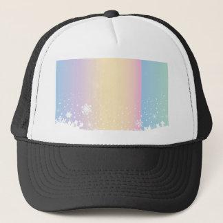 Snowflake Scene Trucker Hat