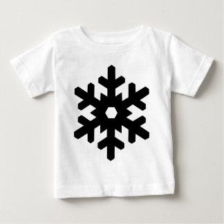 Snowflake Silhouette Baby T-Shirt
