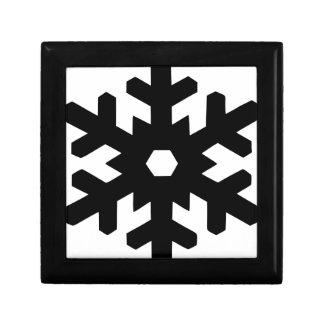 Snowflake Silhouette Gift Box
