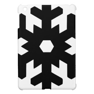 Snowflake Silhouette iPad Mini Cover