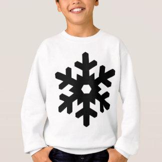 Snowflake Silhouette Sweatshirt