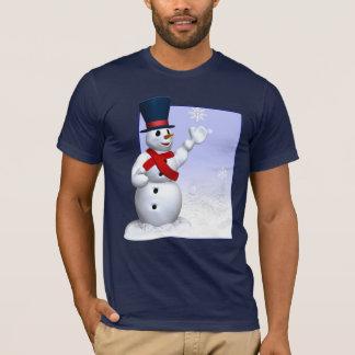 Snowflake Snowman T-shirt