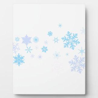 Snowflake Spangled Banner Plaque
