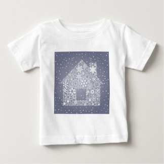 Snowflake the house baby T-Shirt