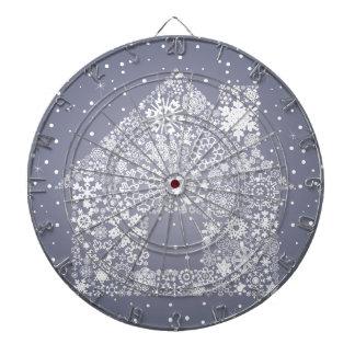 Snowflake the house dartboard